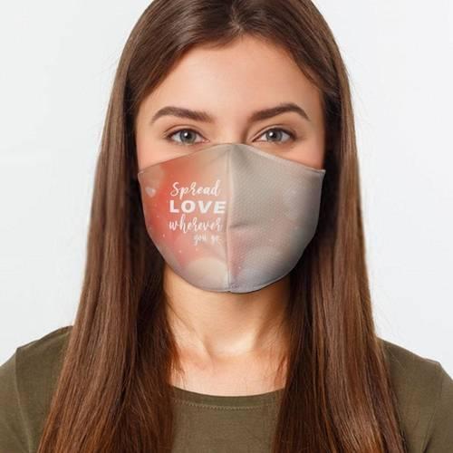 Spread Love Wherever Face Cover shop
