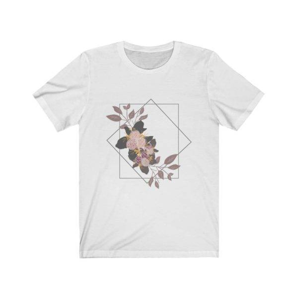 Geometric Floral Unisex Jersey Short Sleeve Tee shop