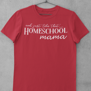 Homeschool Mama Short Sleeve Tee shop Tees TOPS
