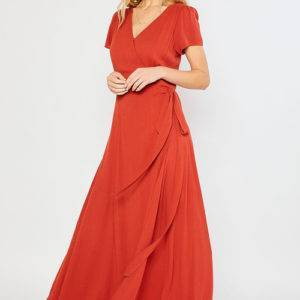 Wonderlust Wrap Maxi Dress maxi dresses