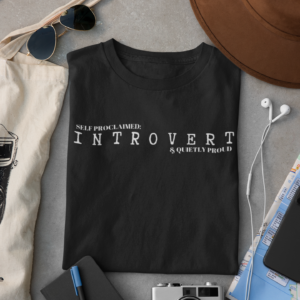 Introvert Unisex Short Sleeve Tee shop Tees TOPS
