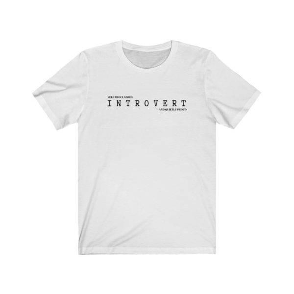 Introvert Unisex Short Sleeve Tee shop