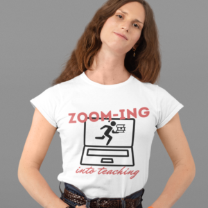 Zooming into Teaching Unisex Jersey Short Sleeve Tee shop Tees TOPS